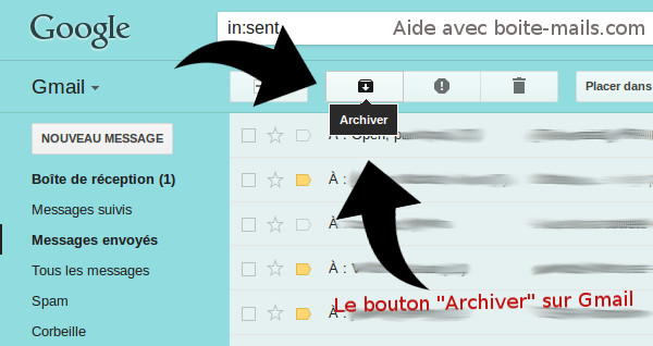 Archiver Gmail