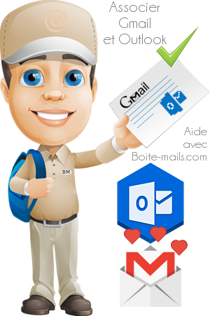 Gmail et Outlook