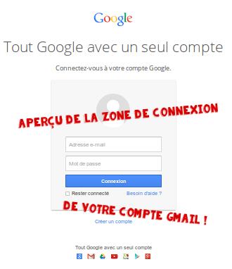 Gmail se connecter à son compte