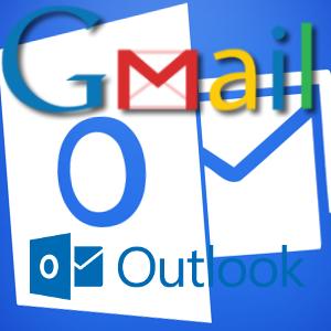 r cup rer ses mails gmail sur le logiciel outlook de microsoft. Black Bedroom Furniture Sets. Home Design Ideas