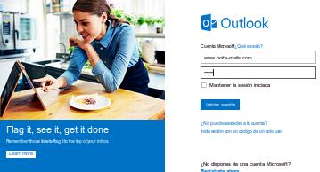 Hotmail en espagnol