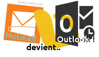 Boite hotmail outlook