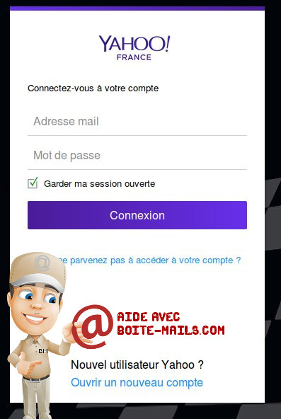 login yahoo france