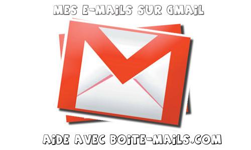 E-mails avec Gmail