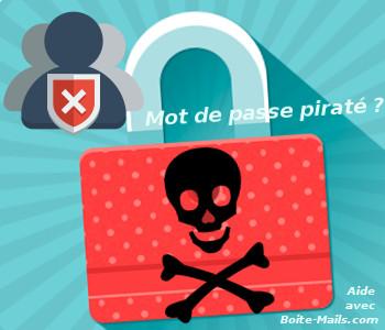 Mot de passe Gmail piraté