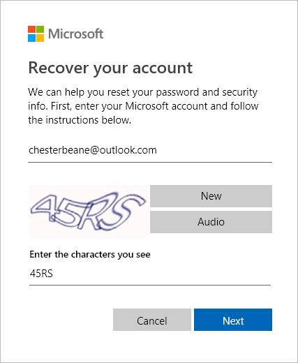 Outlook bloqué