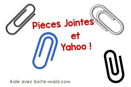 Piece jointe sur Yahoo