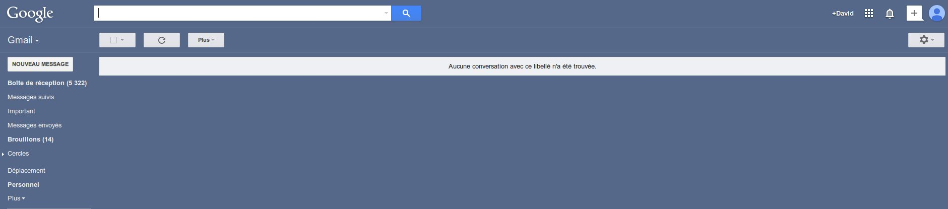 boite de reception gmail