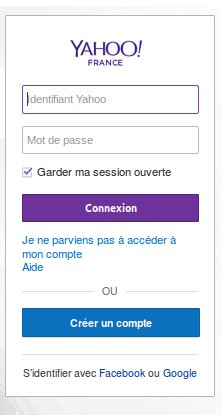 yahoo se connecter