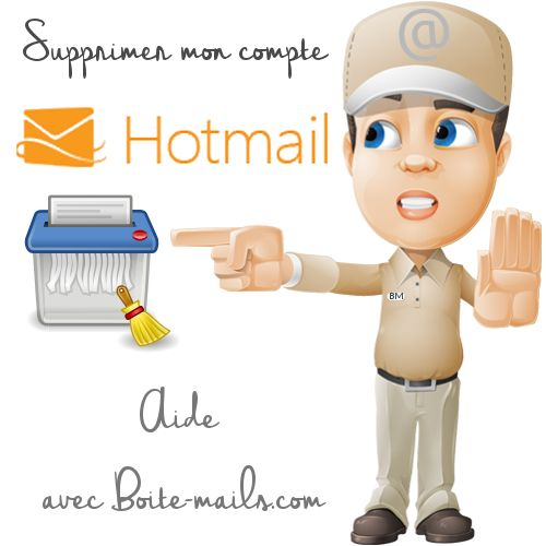 Supprimer Hotmail