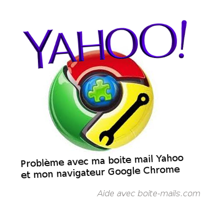Messagerie Yahoo et Google chrome