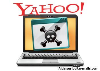 Compte Yahoo piraté