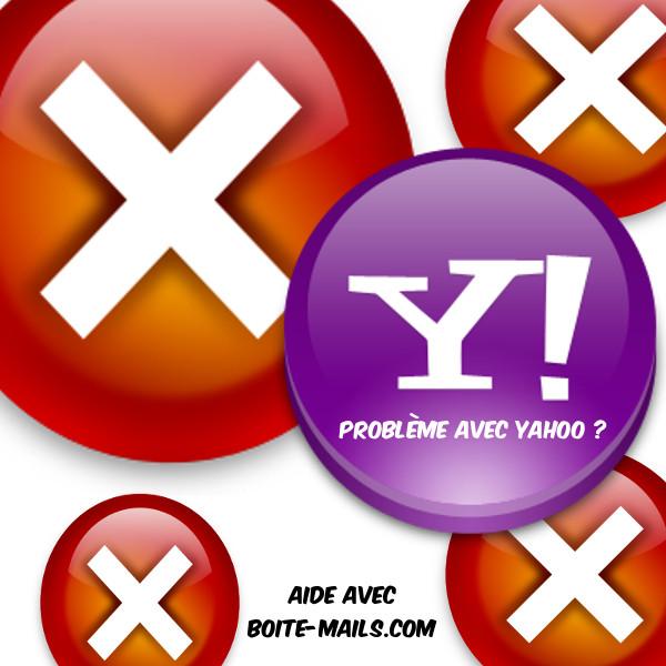 probleme yahoo