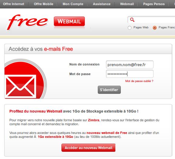 Zimbra.imp.free